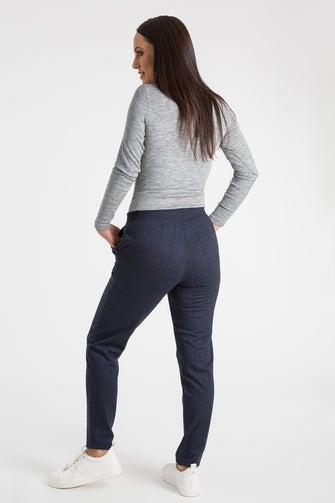 Relaxed Jacquard Ponti Short Pant