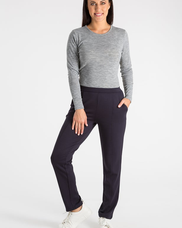 Relaxed Ponti Short Pant
