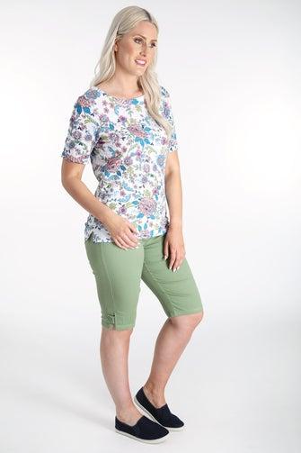 Summer Coloured Denim Shorts