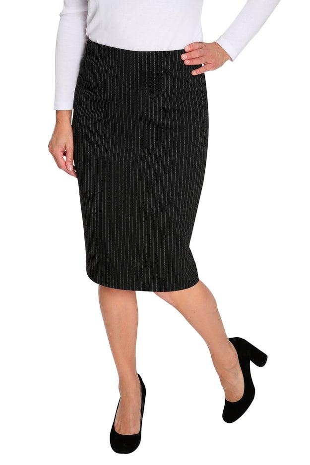 Jacquard Ponti Skirt