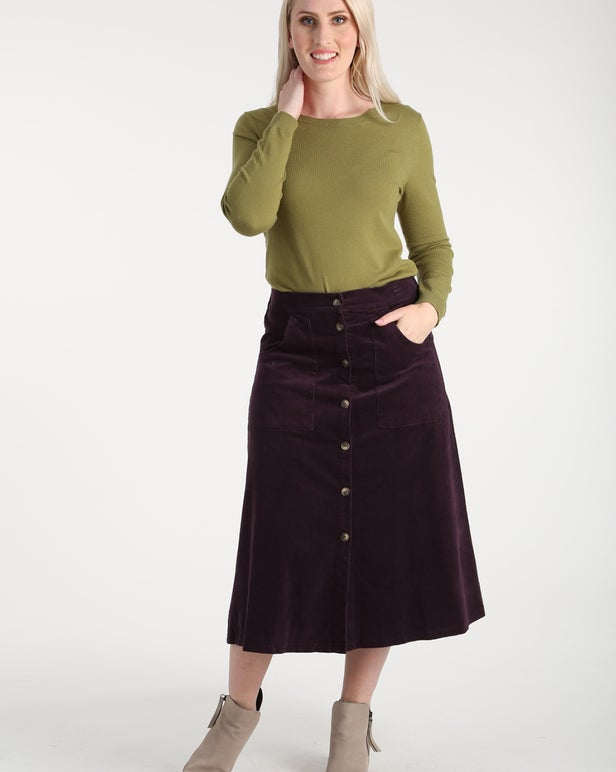 Stretch Cord Skirt