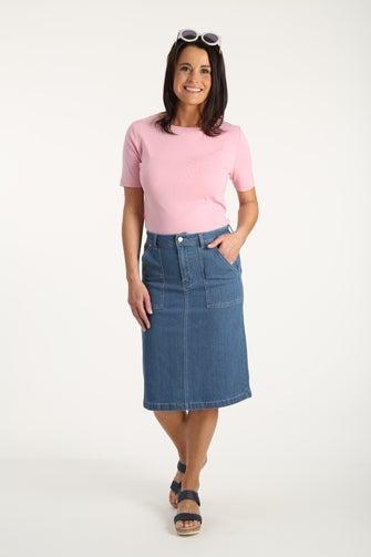 Signify Denim Skirt