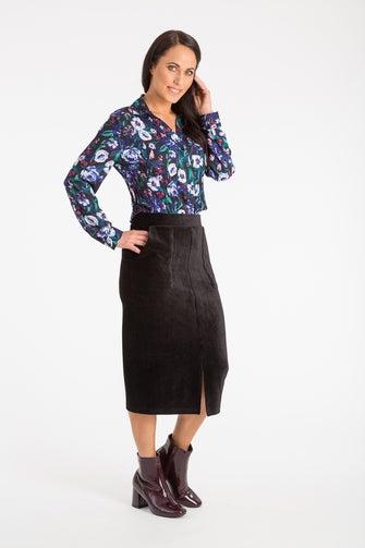 Knit Cord Skirt