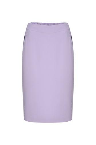 Soft Stretch Twill Skirt
