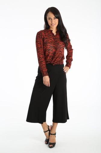 Viscose Elastane Skirt Pant