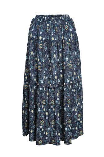 Printed Mini Pleat Skirt