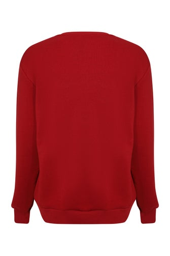 Brushed Fleece Sweatshirt