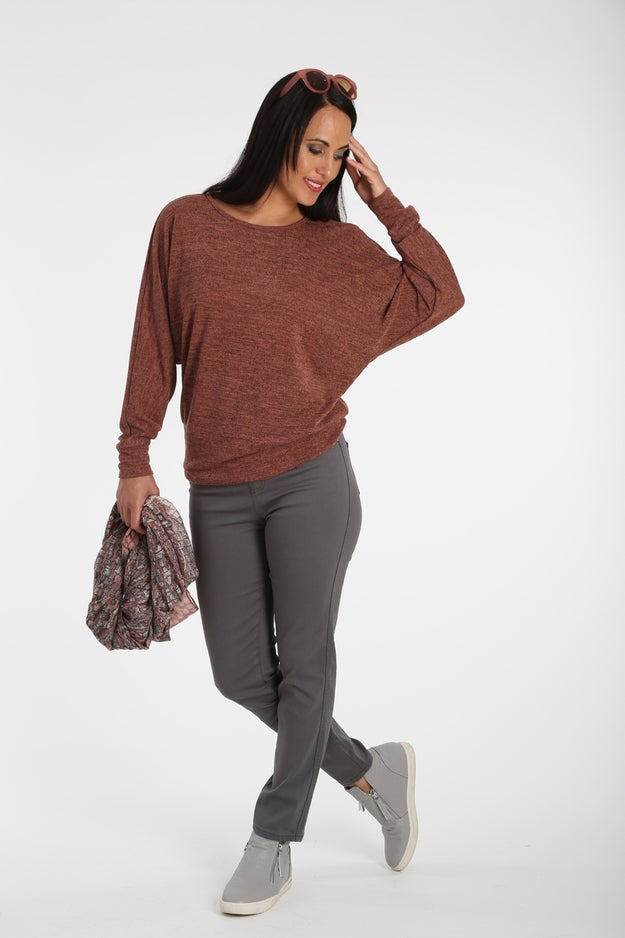 Soft Marle Knit Top