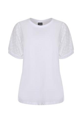 Cotton Rich Knit Top