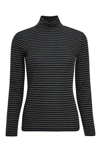 Merino Blend Stripe Top