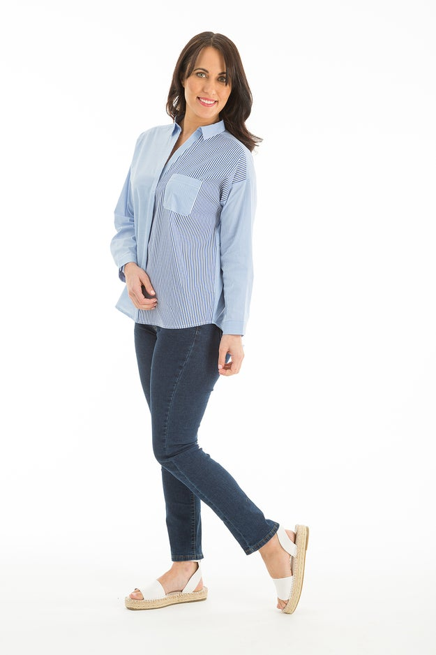 Cotton Rich Stripe Tunic
