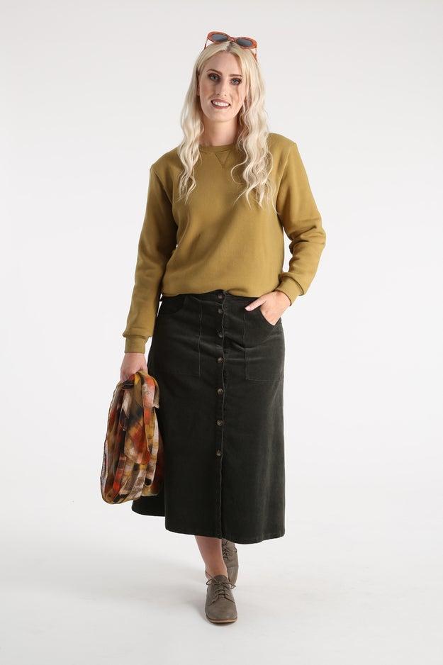 Brushed Fleece Tunic