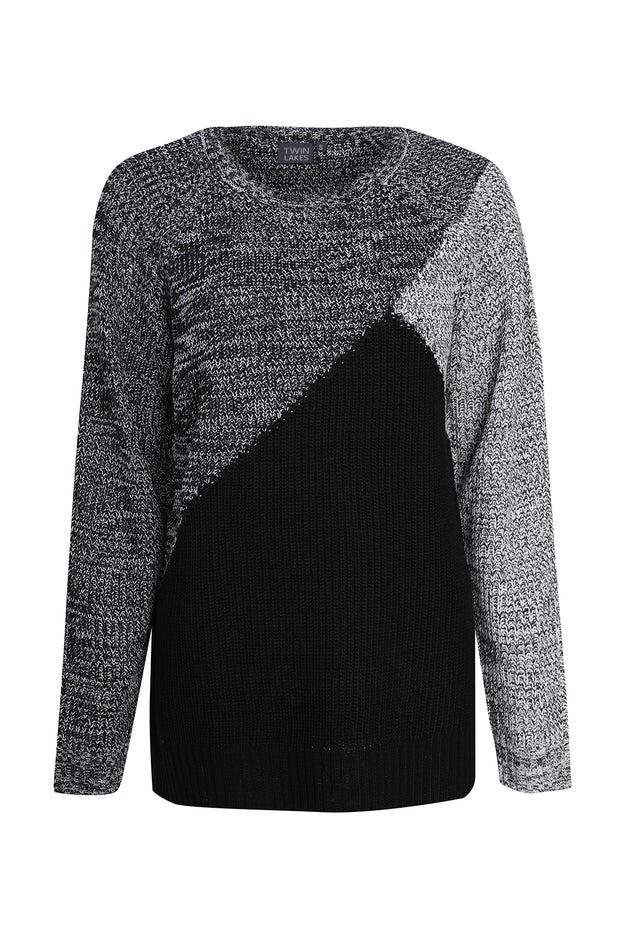 Tonal Marle Knitwear Tunic