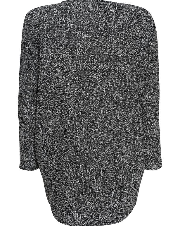 Salt & Pepper Knit Tunic
