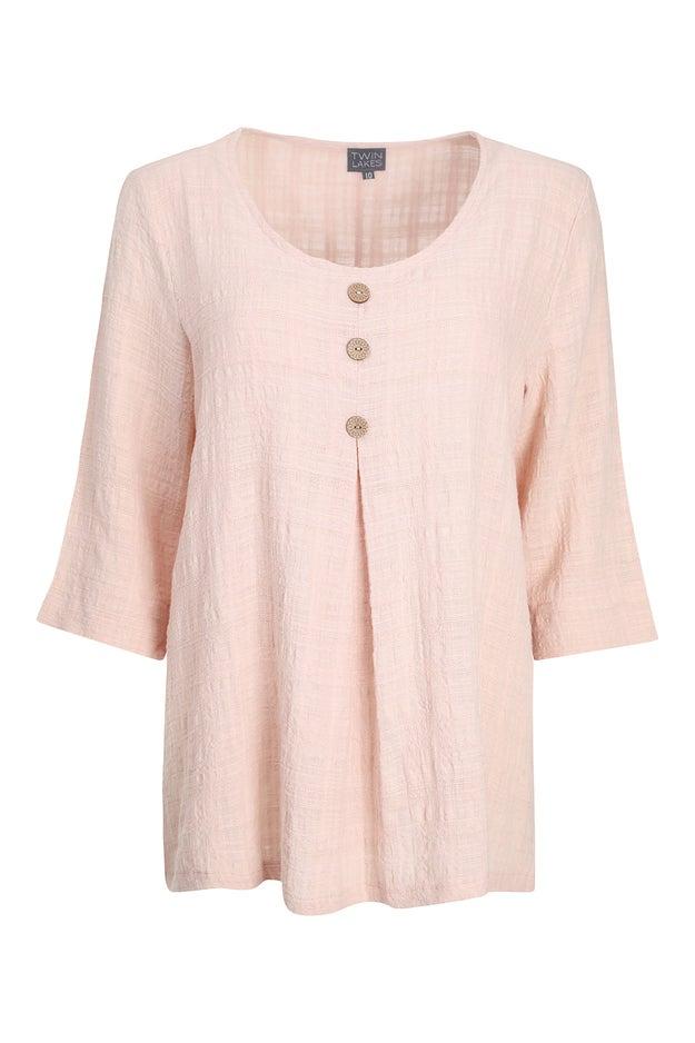 100% Textured Cotton Tunic