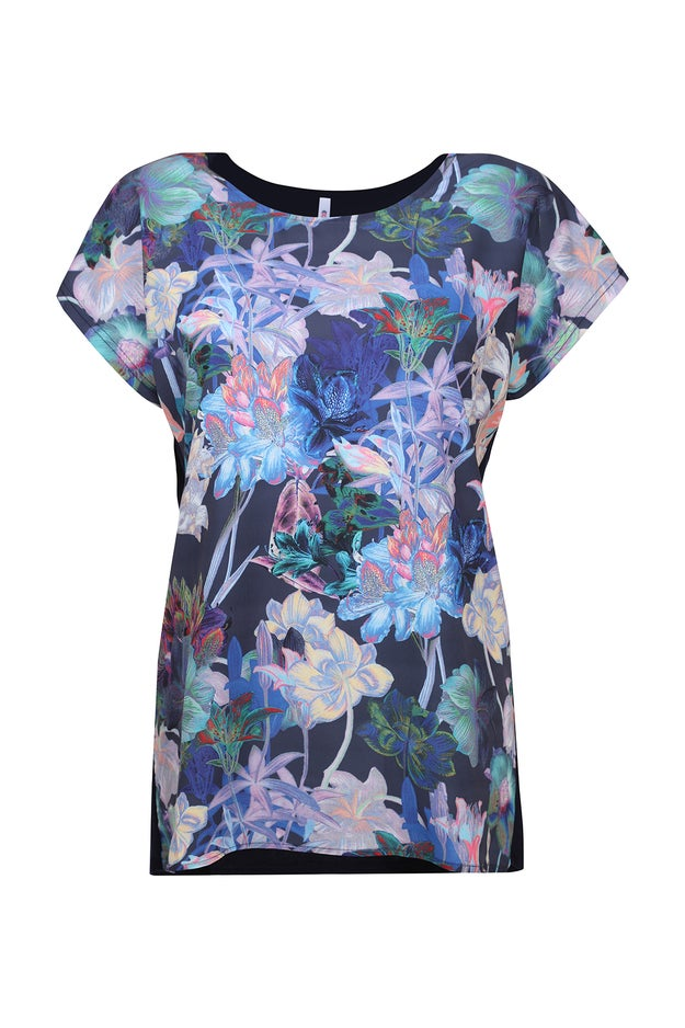 Feature Print Front Tunic