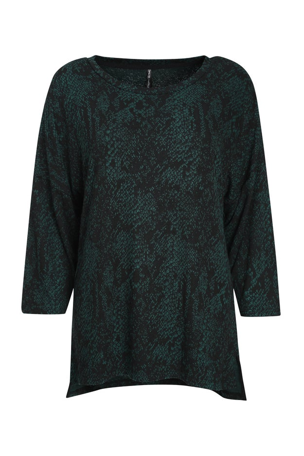 Jacquard Knit Tunic