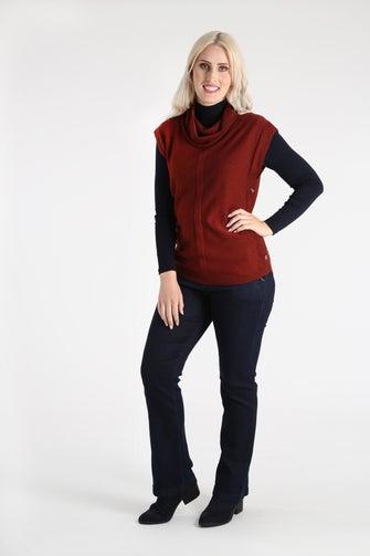 Fine Cozy Knitwear Tunic
