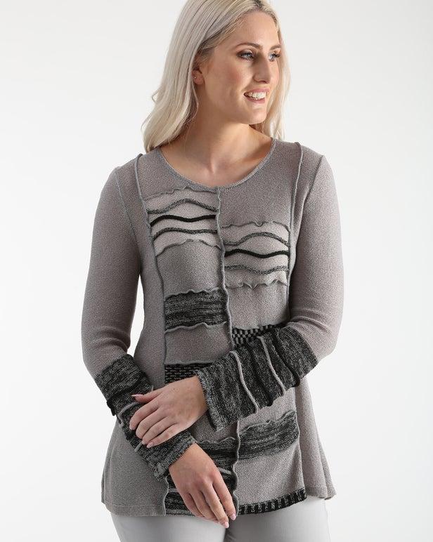 Fancy Knitwear Tunic