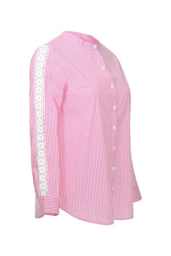Cotton Rich Stripe Shirt