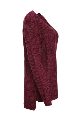Two Tone Knitwear Tunic