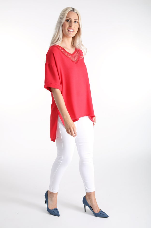 Touch of Linen Tunic