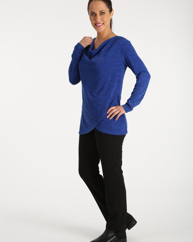 Soft Marle Knit Tunic