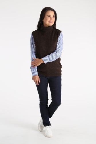 Spongey Knitwear Vest