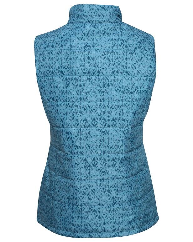 Printed Puffer Vest